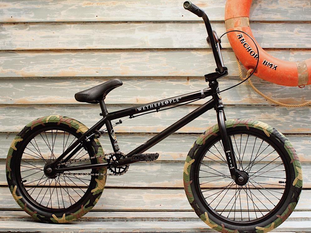 Wethepeople Justice 2020 Matte Black Bmx Bikes Bmx Matte Black