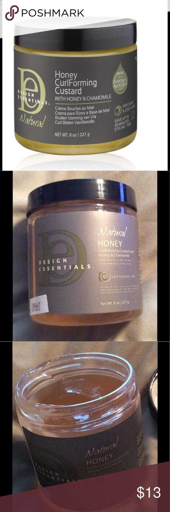 Design Essentials Honey Curl Forming Custard Nwt My Posh Closet