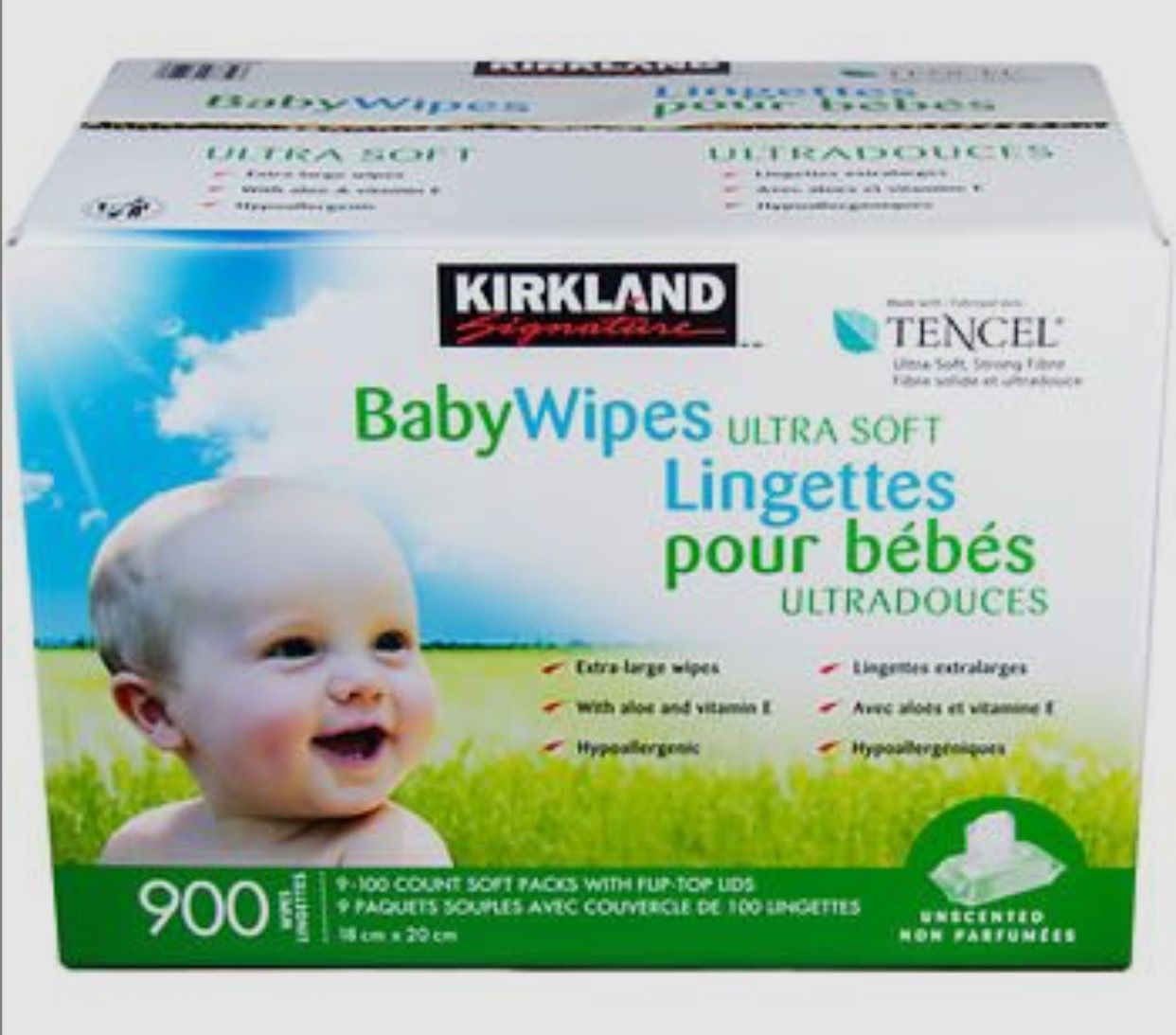 Lingettes Pour Bebe Kirkland Costco Baby Wipes Baby Towel Wipes