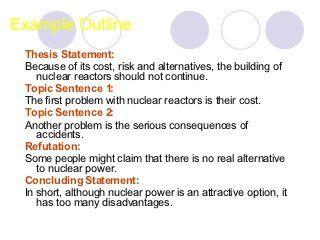 Argumentative Essay Writing A Persuasive Topic Sentence Example