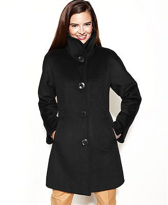 ELLEN TRACY Womens Button Up Jacket