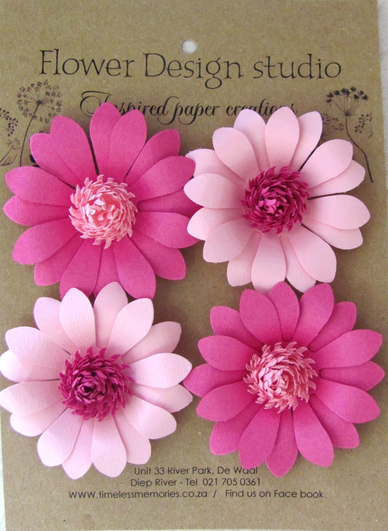 Baha daisy pink  DIY Flowers u Ribbon  Pinterest  Diy flowers