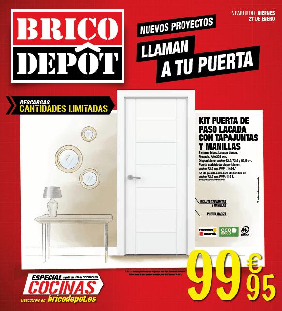 Cat logo brico depot junio 2017 puertas for Puertas bricodepot
