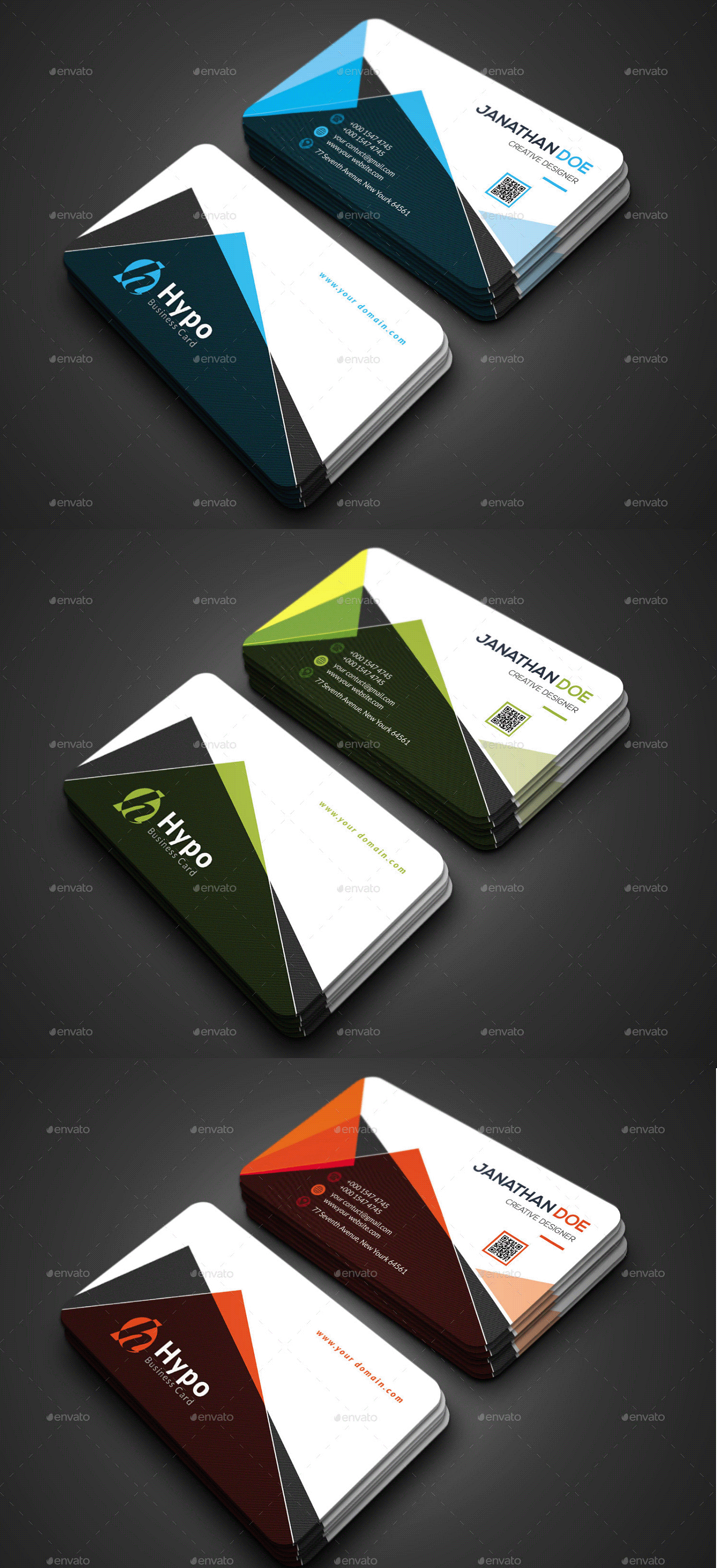 Business Card Template on Behance Business Card Template
