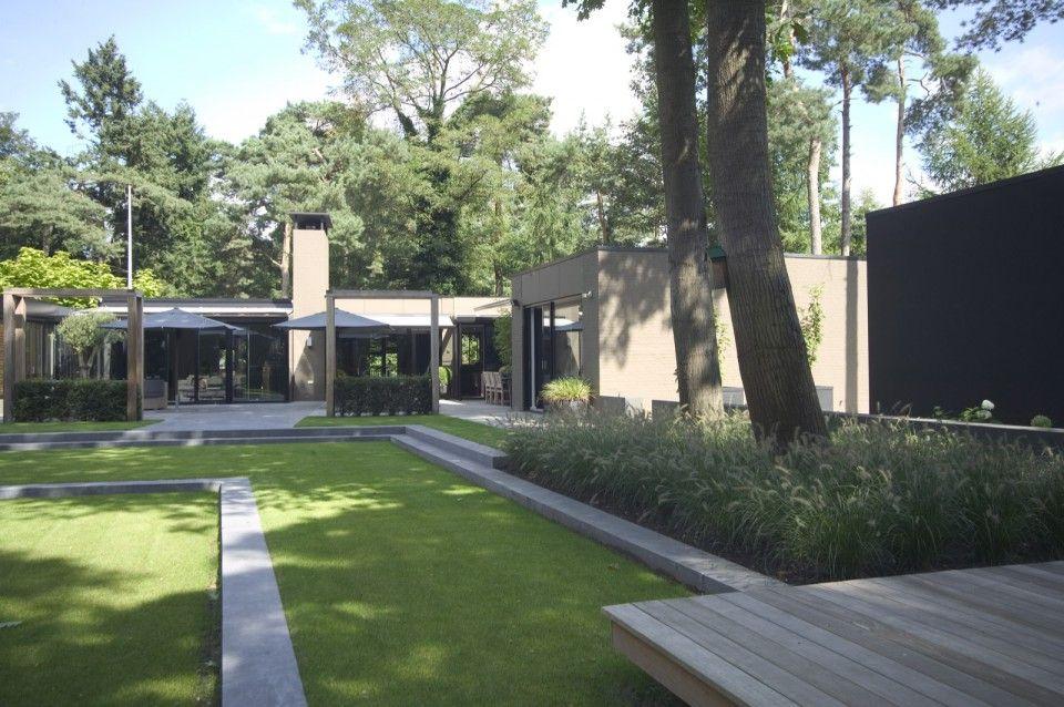 Puur groenprojecten verscholen schoonheid luxe tuin ontwerp