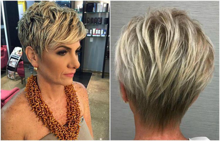 Blonde frisuren ab 50