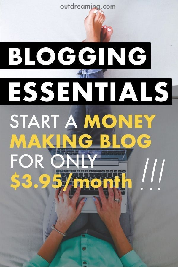 Start a money-making blog while on a budget | Blogging Essentials for starting a blog and side hustle | Side Hustle Tips for Making Money | Successful Blogging Tips #bloggingtips #budgetingtips #bloghosting #bluehost #affiliatelink #ad #blogessentials