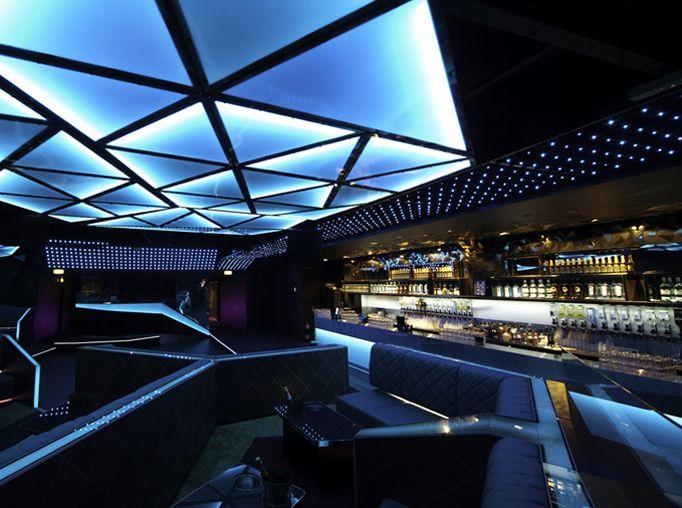 club interior bar architecture vls nightclub lounge restaurant visit moderne lighting bonbon