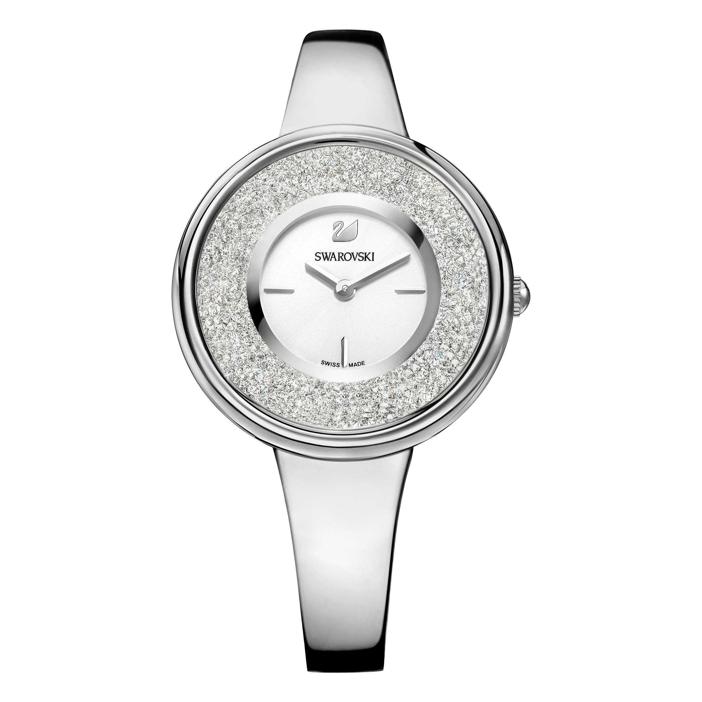 awesome Swarovski Crystalline pure watch, Metallic just added...