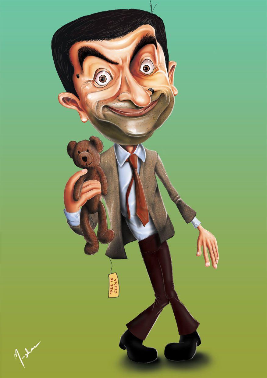 Mr Bean Caricature Caricature Art Parody Caricature Drawing