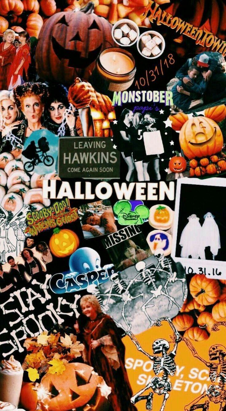 Pin Oleh Gilbert Jo Di Iphone Wallpapers Halloween Disney Latar Belakang