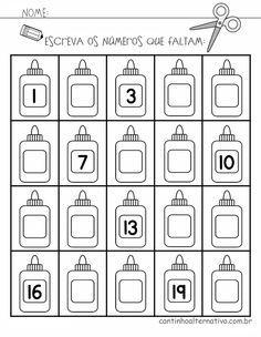 Resultado De Imagem Para Atividades De Matematica Educacao