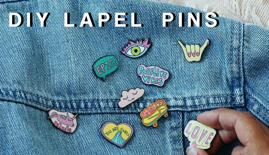 Easy Tips To Make Your Own Lapel Pins At Home Luulla S Blog Make Your Own Pins Enamel Pins Diy Lapel Pins