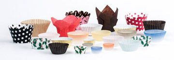 Types Of Cupcake Liners Baking Cups Cupcake In A Cup Different