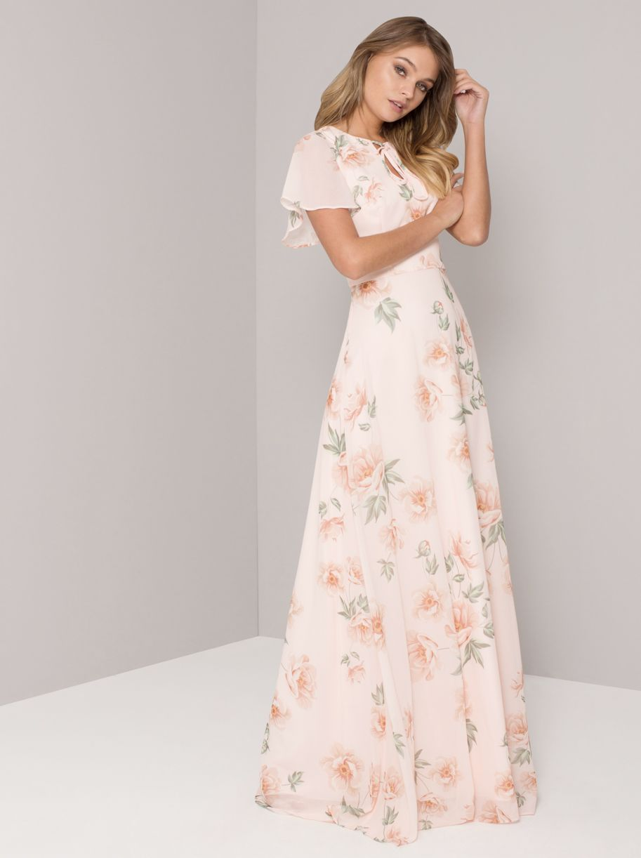 bcea688acd2220 Pastel Floral Maxi Dress – The Chi Chi Jessamine
