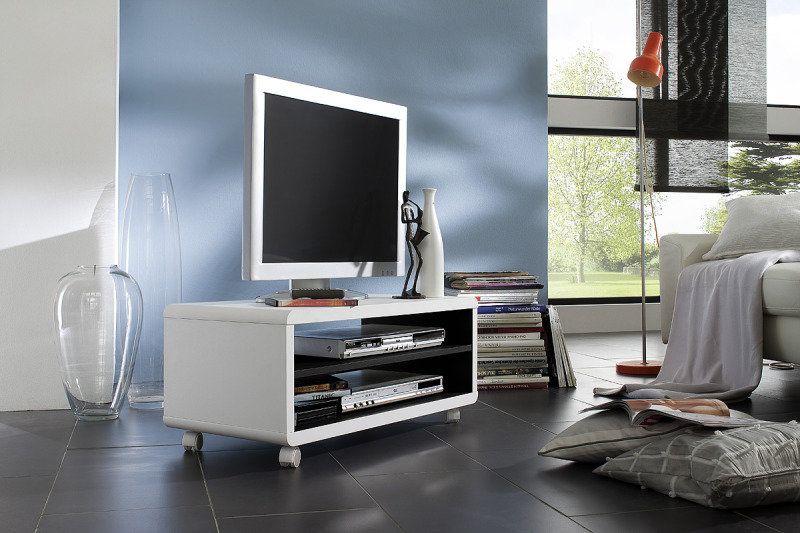 tv lowboard jeff 7 wei schwarz 4 rollen for the home pinterest tv m bel m bel and. Black Bedroom Furniture Sets. Home Design Ideas