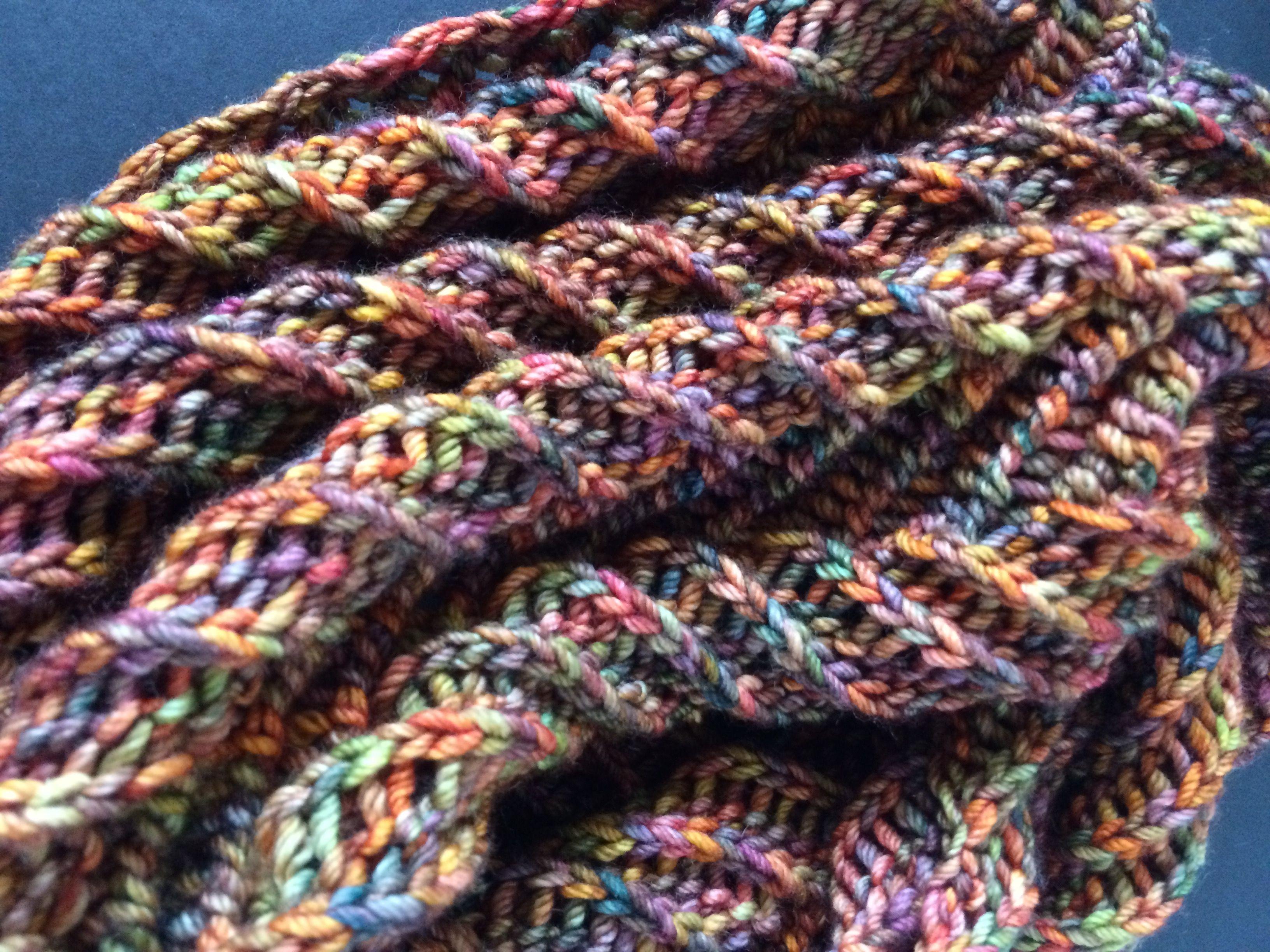 Spiral Euphoria Cowl pattern by Lavish Craft | Spiral, Pattern ...