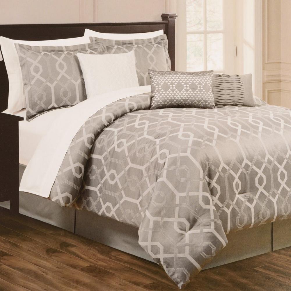 Wayfair basics wayfair basics 7 piece comforter set amp reviews - City Place Design Lorenzo 7pc Comforter Set For 89 97