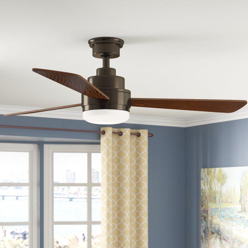 52 Rathburn 3 Blade Ceiling Fan Ceiling Fan Rustic Ceiling Fan