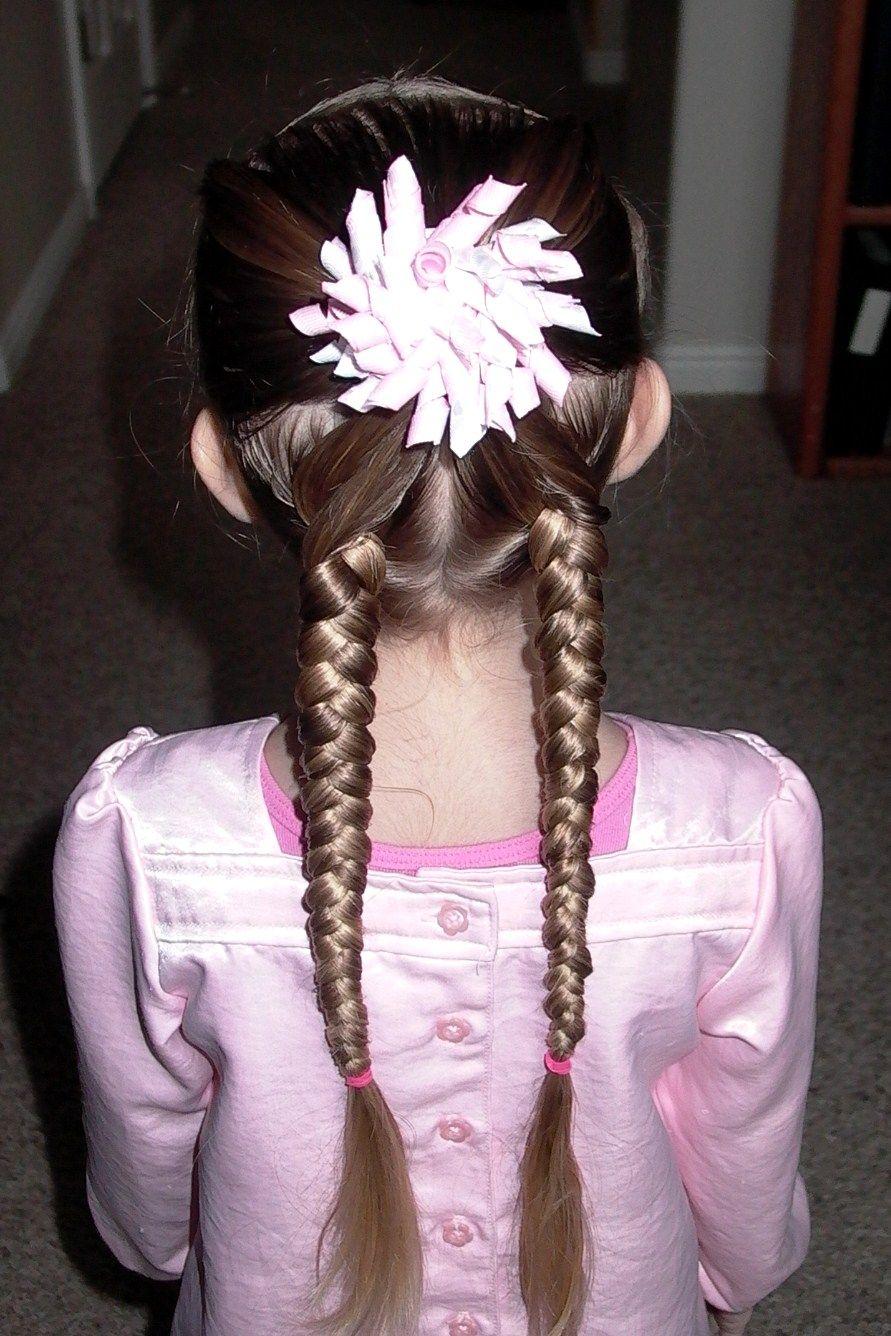 Marvelous 1000 Images About Peinado Ninas On Pinterest Girls Hairdos Hairstyle Inspiration Daily Dogsangcom
