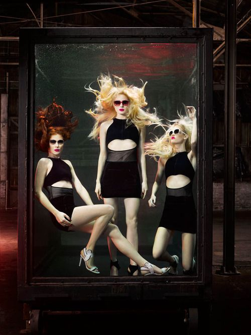 Lucy, Taylor Foster, Simon Sherry Wood and Taylor Bagley by Douglas ...