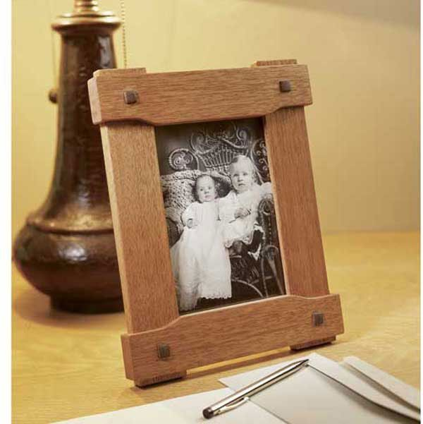 Photo of Wood Magazine – Woodworking Project Paper Plan to Build Era-Inspired Picture Frame