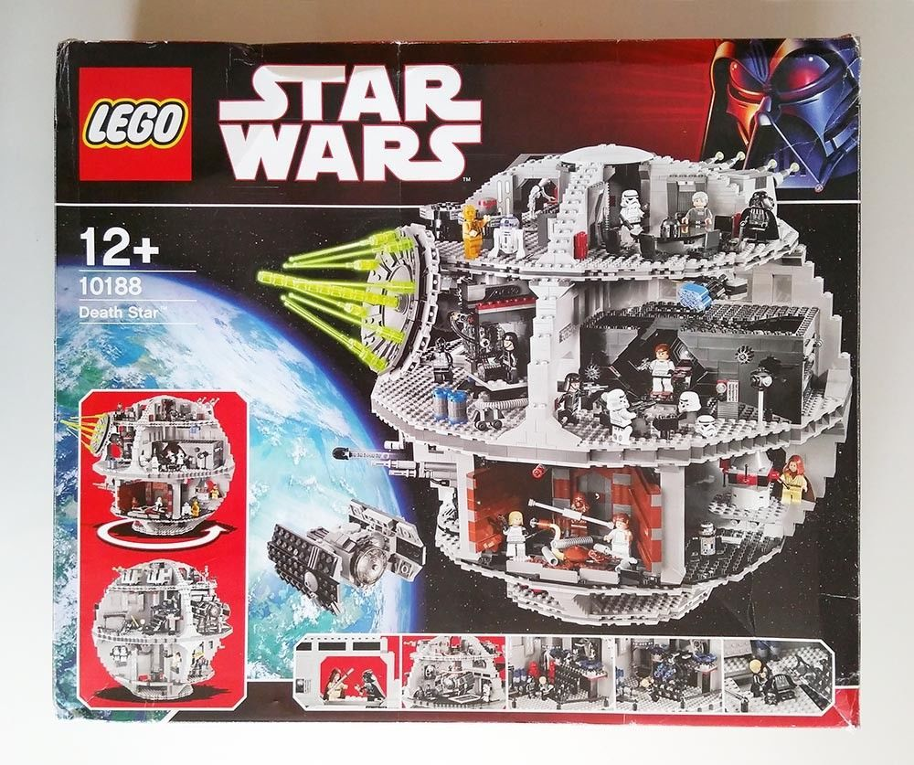 Lego Star Wars 10188 Death Star 2008 With Instructions And Box