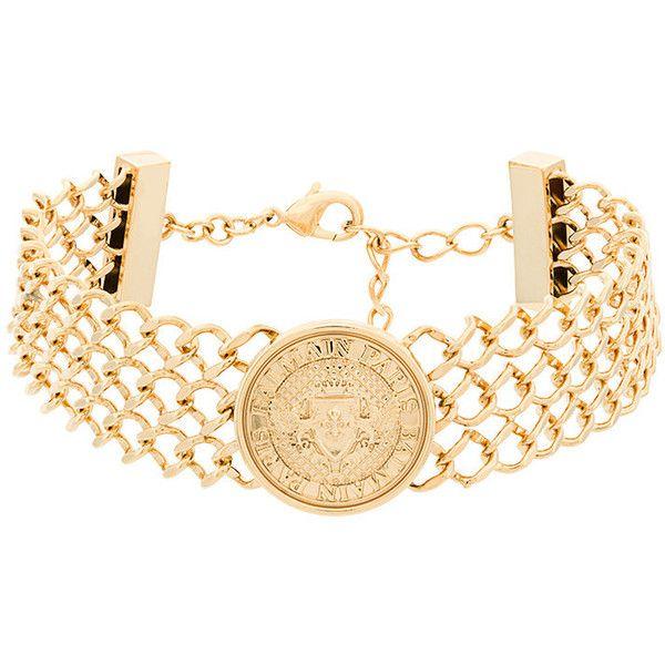 embossed coin bracelet - Metallic Balmain lS1Zxjk
