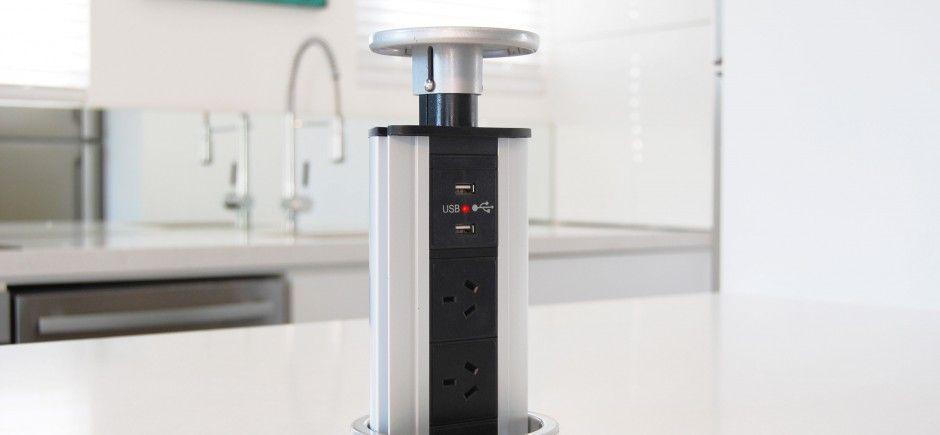 PowerTower Countertop Pop Up Socket