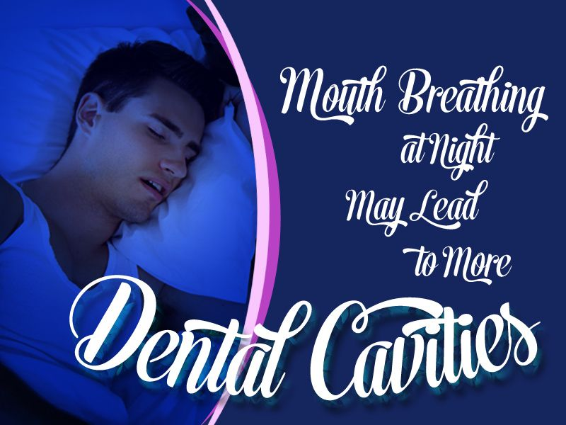 Did you know mouth breathing at night may lead to more