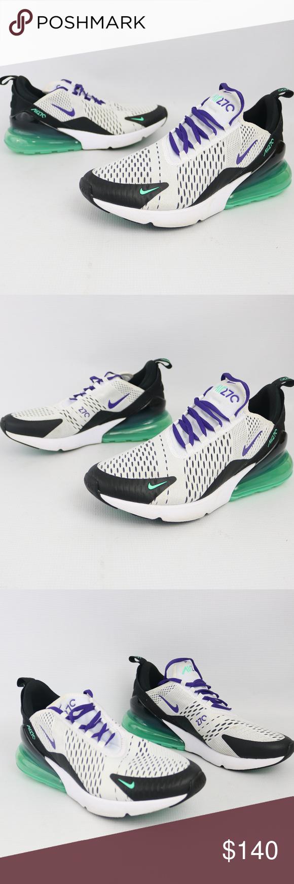Nike Air Max 270 Grape White Court Purple Black Nike W