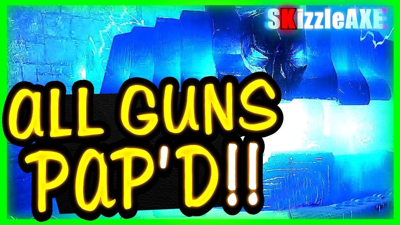 All Guns Pack A Punch In One Game In Der Eisendrache Black Ops 3