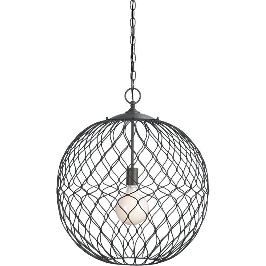 Hoyne Pendant Lamp in Chandeliers & Pendants   Crate and Barrel