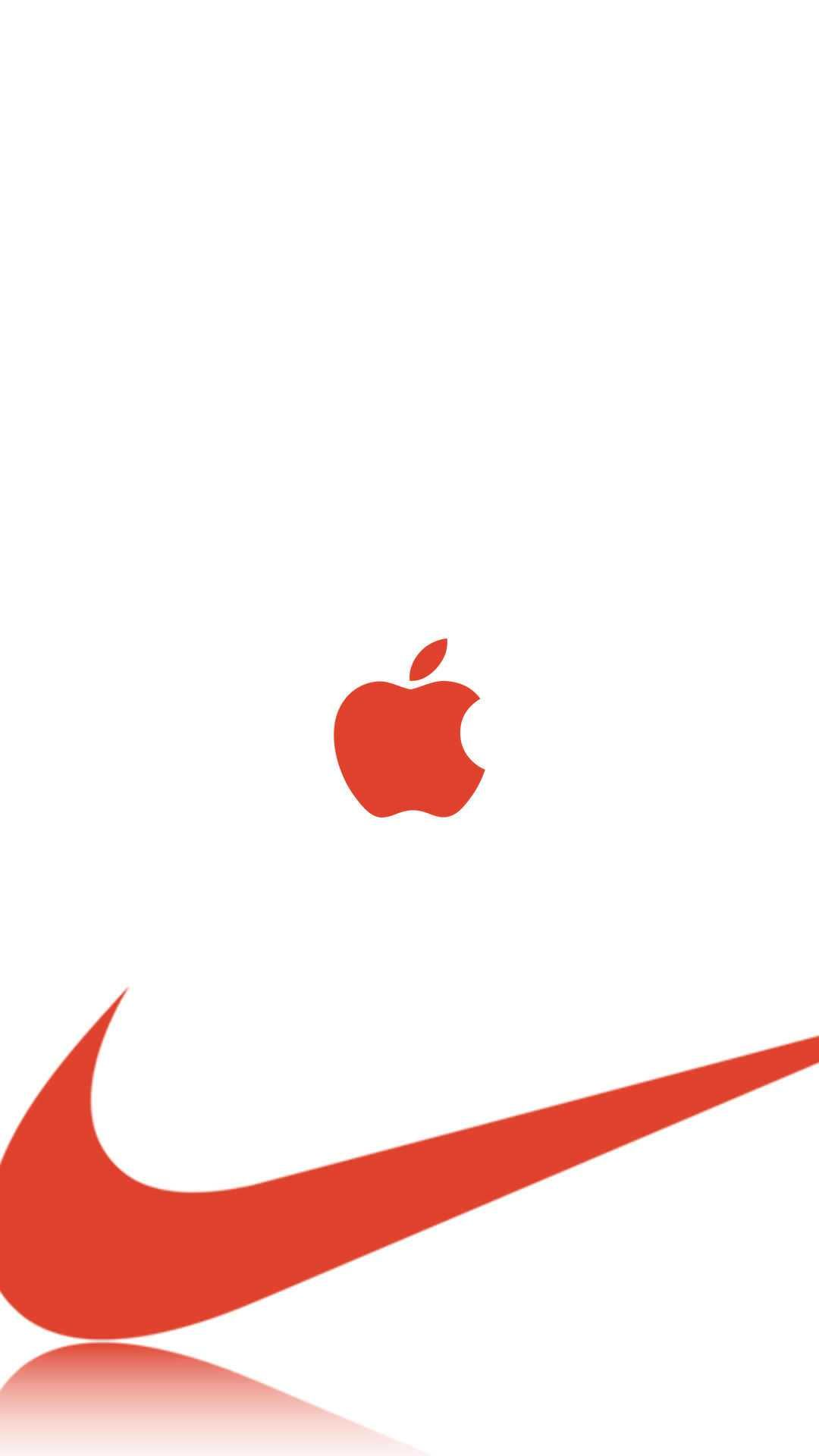 Nike And Apple Iphone Wallpaper Apple Tite In 2019 Apple Logo