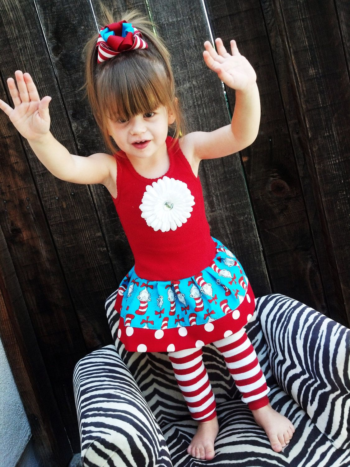 Dr Seuss Cat In The Hat Dress Available In Sizes 6mo By