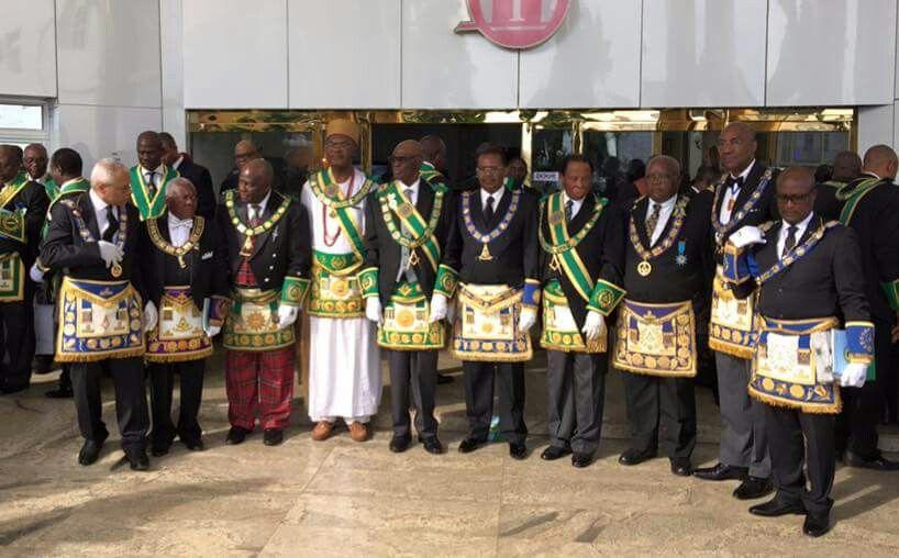 Nigerian Grand Lodge Members