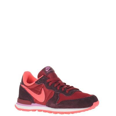 the latest 191a4 b875f Nike dames sneakers rood INTERNATIONALIST