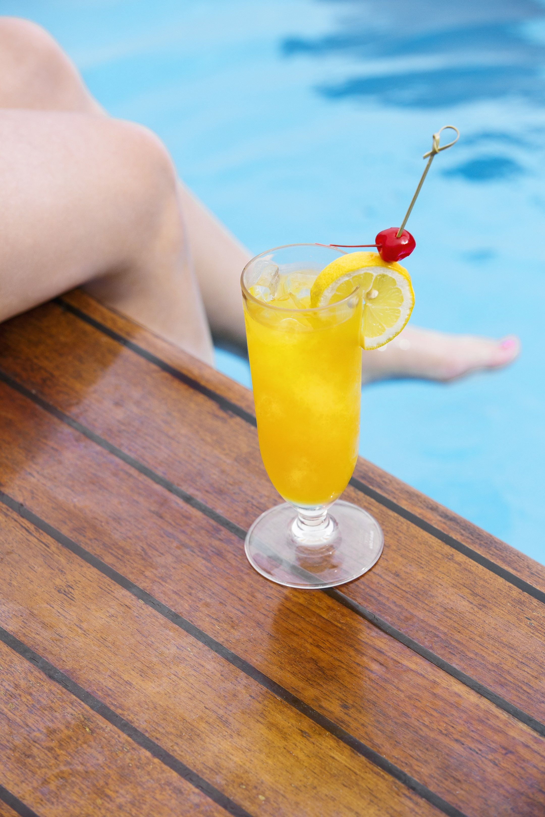 Cruising and cocktails go hand in hand.