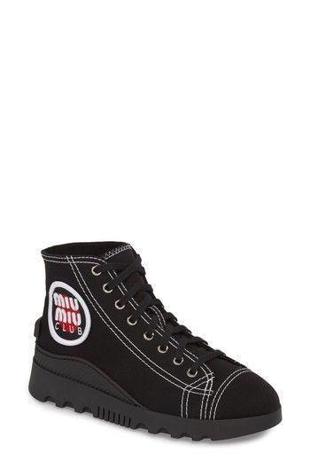 all over logo sneakers Miu Miu jsI1l2ng