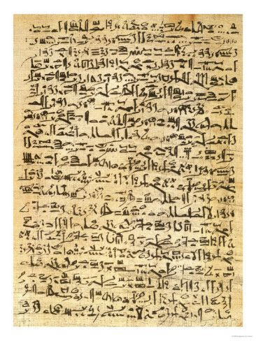 Facsimile Copy of the Edwin Smith Medical Papyrus, Original Dating ...