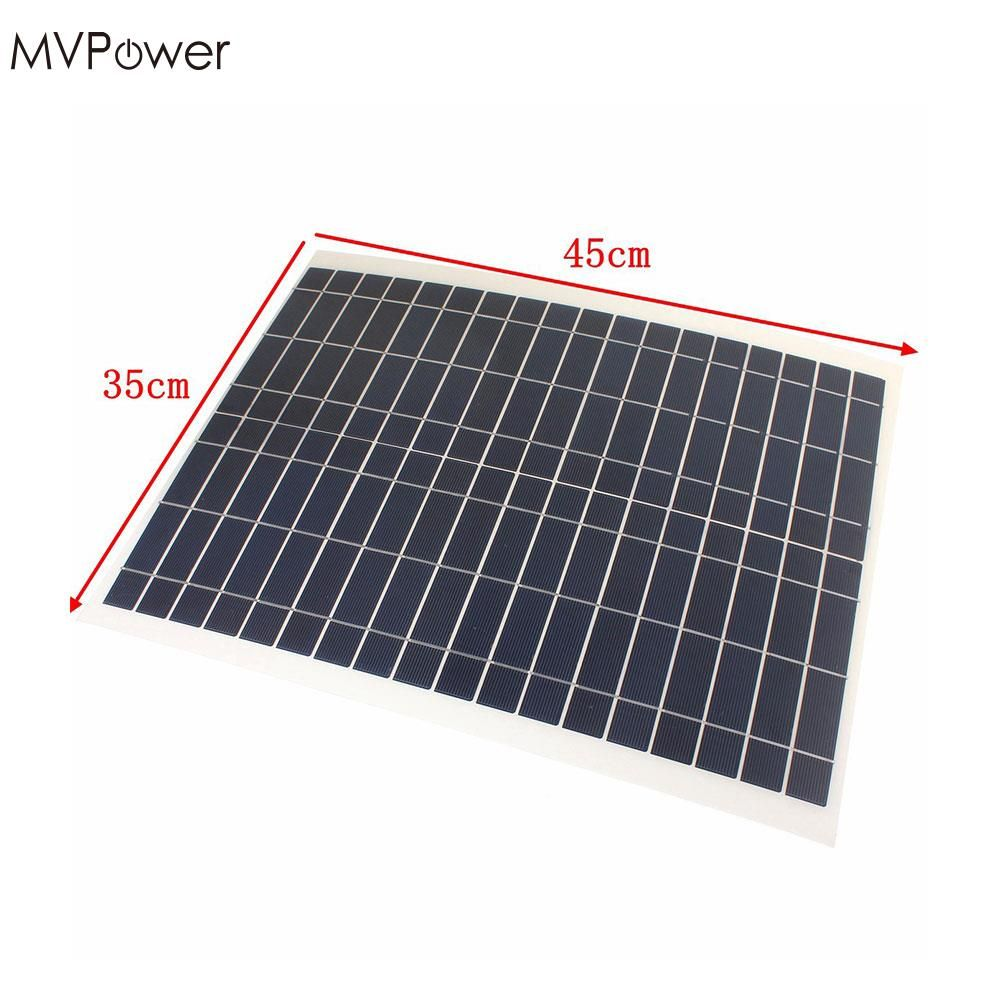 Best Price Warterproof Practical 12v 20w Solar Power Panel Bank Sun Power Soft Flexible Solar Panel With Yacht Boat