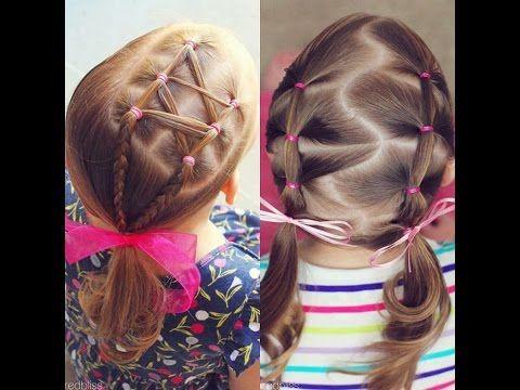 Peinados Faciles Para Nina Paso A Paso X2f Tutorial Trenzas De Moda Youtube Hair Styles Hair Wrap Beauty