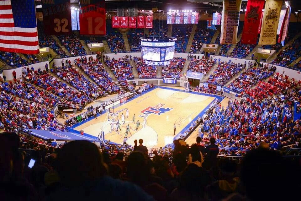 The TAC Louisiana tech, Bulldogs basketball, College