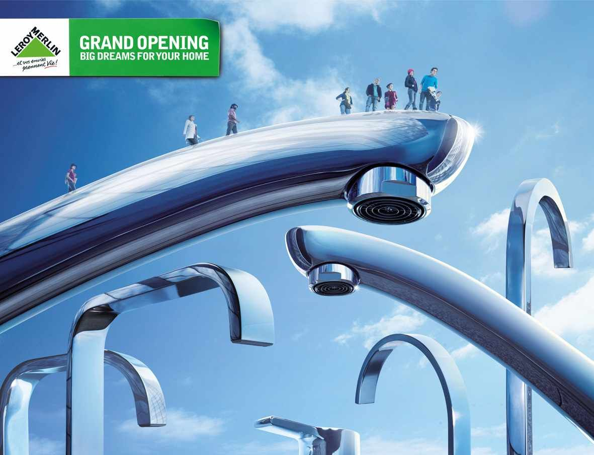 Leroy Merlin Grand Opening Tap Ads Of The World Merlin Grand Opening Creative Banners