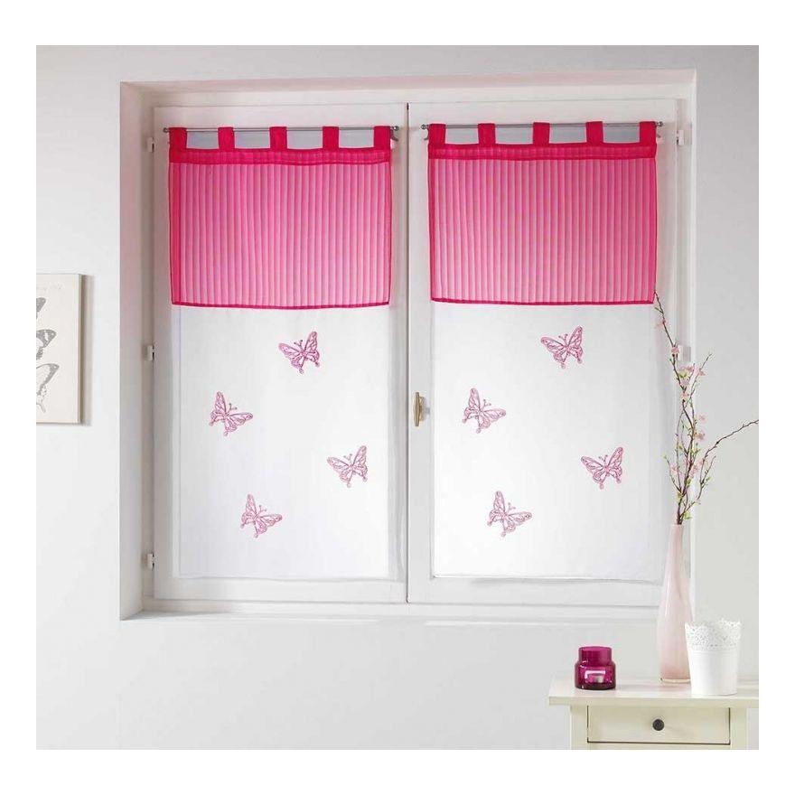 Brise Bise Et Vitrage Valance Curtains Home Decor Curtains