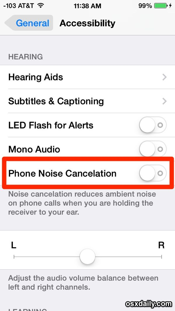 Iphone Calls Sound Weird Try Turning Off Phone Noise Cancelation In Ios Iphone Call Sound Phone