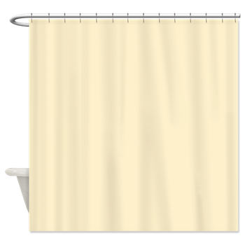 Solid Pale Yellow Shower Curtain Yellow Shower Curtains Peach