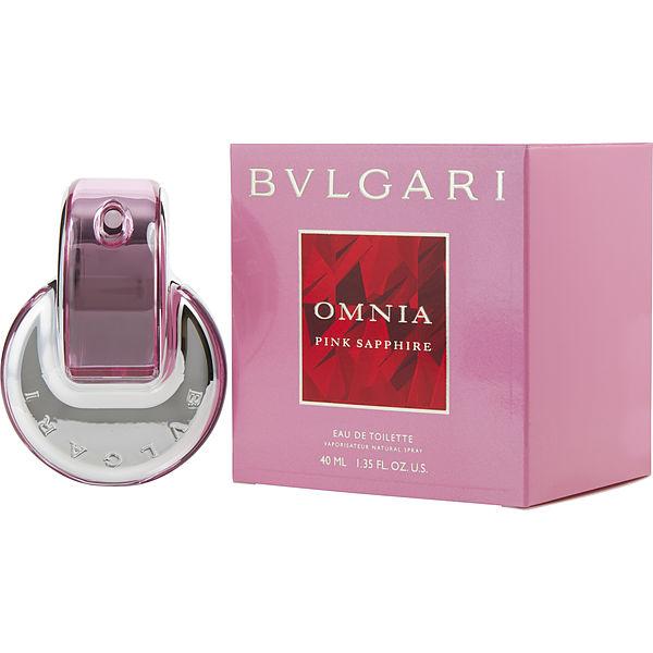 Bvlgari Omnia Pink Sapphire Eau De Toilette Spray 2 2 Oz In 2020 Bvlgari Pink Sapphire Fragrance