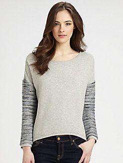 Generation Love - French Terry Combo Sweatshirt