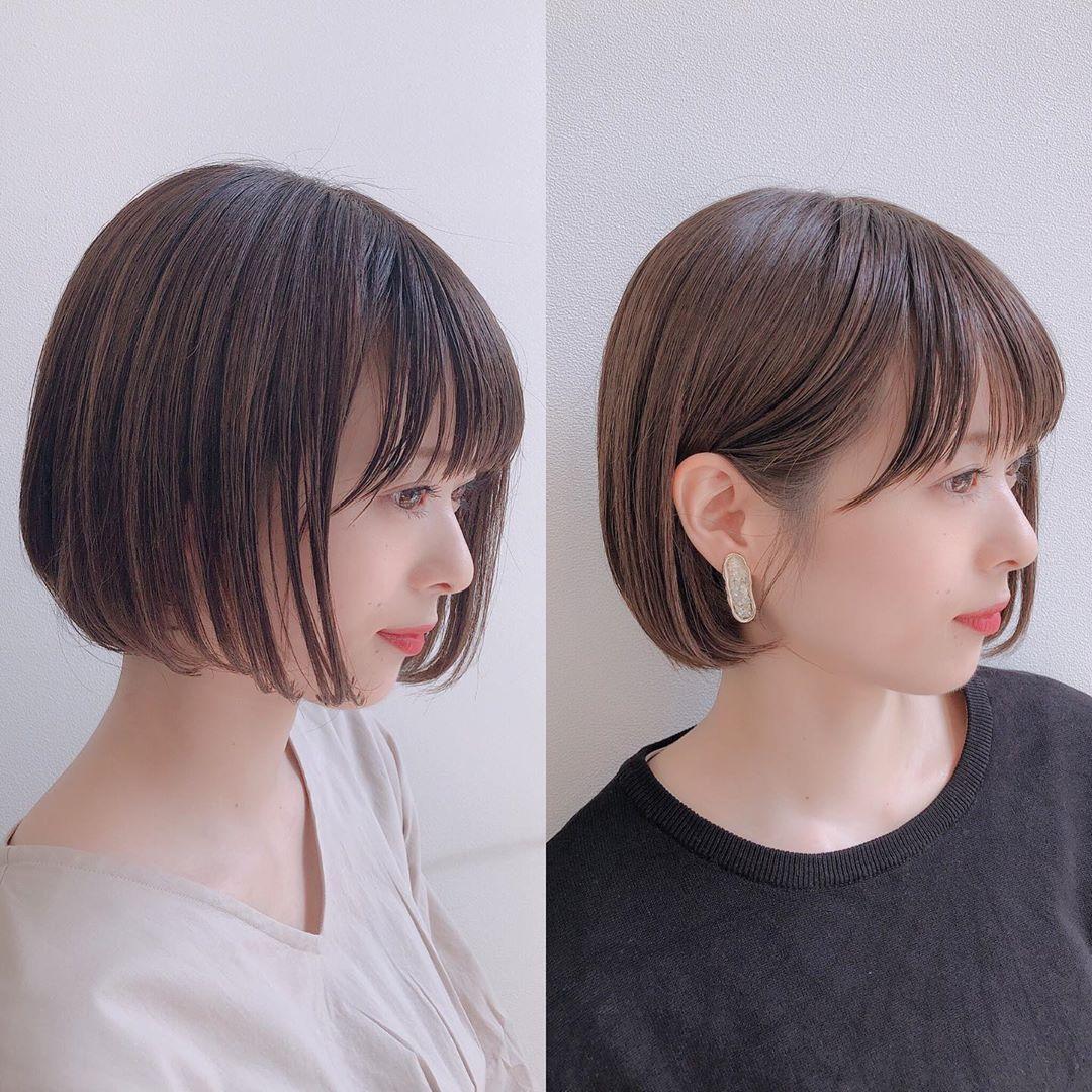 ボブ ショート 美容師 Sand銀座 スヤマリュウイチ On Instagram
